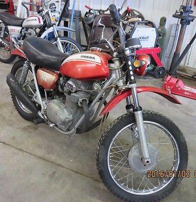Honda : Other VINTAGE 1971 HONDA SL350K1 MOTOSPORT ORIGINAL SURVIVOR SL350 MUFFLERS