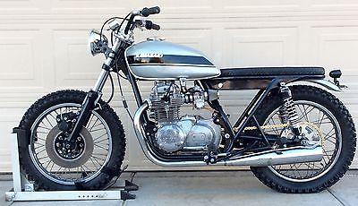 Kawasaki : Other 1974 kawasaki kz 400 brat cafe racer bobber tracker twin