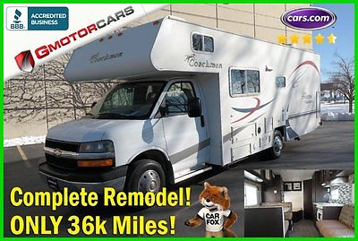2004 Chevrolet Express Coachmen Freedom 258DB Used 36k Miles COMPLETE REMODEL