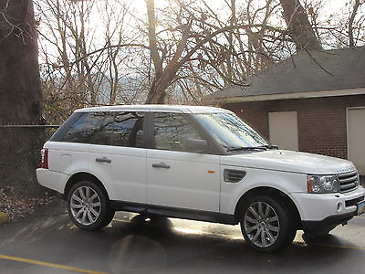 Land Rover : Range Rover Sport Supercharged Sport Utility 4-Door 2006 land rover range rover 4 d sport utility hs