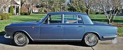 Bentley : Other 1967 bentley t 1 sedan rhd stunning astral blue with blue grey leather
