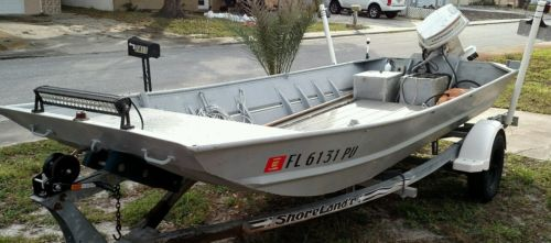 Above Flat bottom aluminum fishing boats impossible