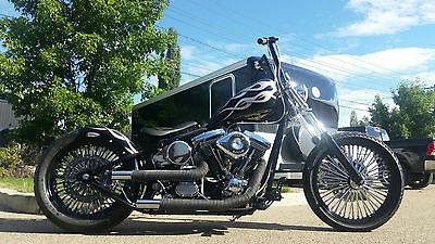 Harley-Davidson : Softail 2015 custom harley softail bobber