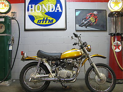 Honda : Other 1970 honda sl 350 k 0 titled first year motorcycle
