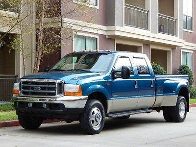 Ford : F-350 FreeShipping F-350 7.3L Diesel 4X4 Crew Cab Long Bed Dually LARIAT 6 Speed Manual! 1-OWNER!!