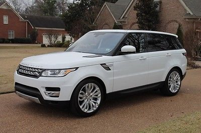 Land Rover : Range Rover Sport V6 Diesel HSE Td6 One Owner Perfect Carfax Diesel HSE Td6 Michelin Tires Meridian Sound Pano Roof