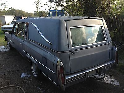 Cadillac : Other superior hearse 1981 cadillac superior hearse funeral coach terminator 3 rat rod