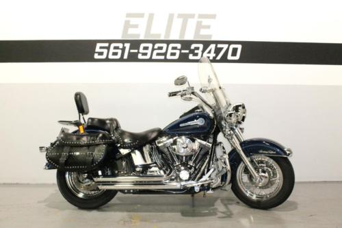 Harley-Davidson : Softail 2005 harley flstci heritage classic exhaust softail 140 a month