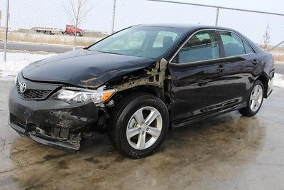Toyota : Camry SE 2014 toyota camry se damaged repairable export welcome wont last save l k