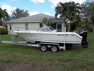 2009 Key West 2020DC w/ 140hp Suzuki and Trailer