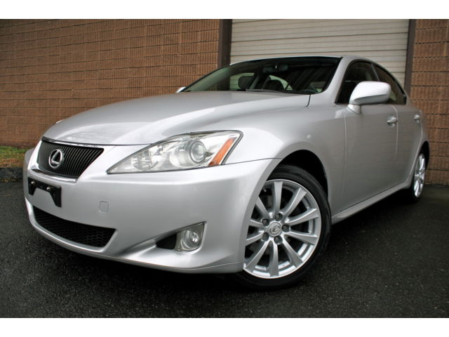 Lexus : IS IS250 AWD MAKE OFFER - 2 OWNER - ALLWHEEL DRIVE - CLEAN CARFAX - NAVIGATION -BACKUP CAMERA