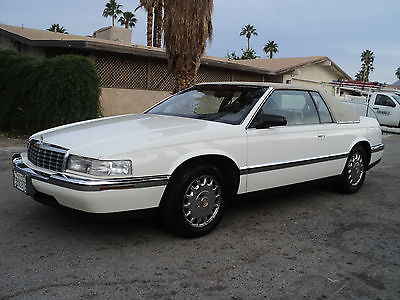 Cadillac : Eldorado Base Coupe 2-Door 1992 cadillac eldorado cabriolet top rare car look low miles clean car