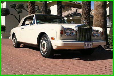 Rolls-Royce : Corniche 1985 used automatic rwd convertible