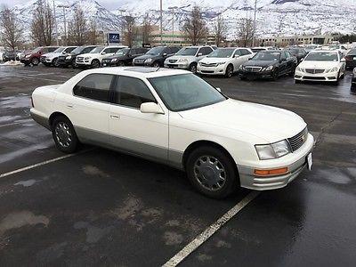 Lexus : LS Base Sedan 4-Door 1996 lexus ls 400 sedan v 8 cheap as is big body