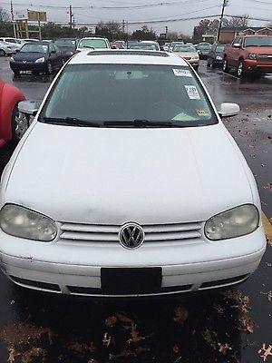 Volkswagen : Golf Volkswagen Golf Gls 2000