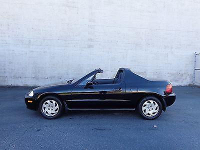 Honda : Del Sol Si 1994 honda del sol si