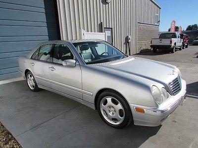 Mercedes-Benz : E-Class E 430 4.3L V8 Sedan 2002 mercedes benz e class e 430 sunroof leather cd sdn 02 mb w 210 knoxville tn