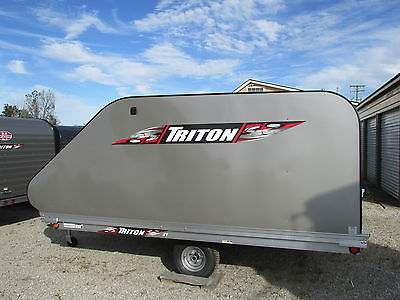NEW 10' TRITON ENCLOSED SNOWMOBILE TRAILER *WINTER BLOWOUT SALE! DR TRAILER