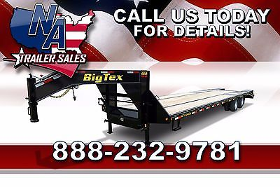 New 2016 Big Tex Trailers HD Tandem Dual Axle 33' Gooseneck - 22GN-28BK+5
