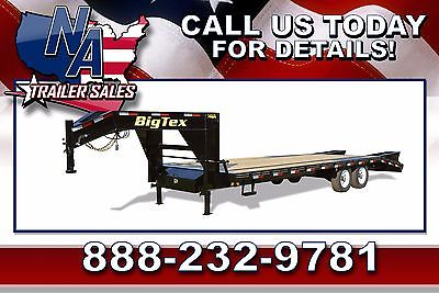 New 2016 Big Tex Trailers Tandem Axle 25' Gooseneck Trailer - 14GN-20BK+5