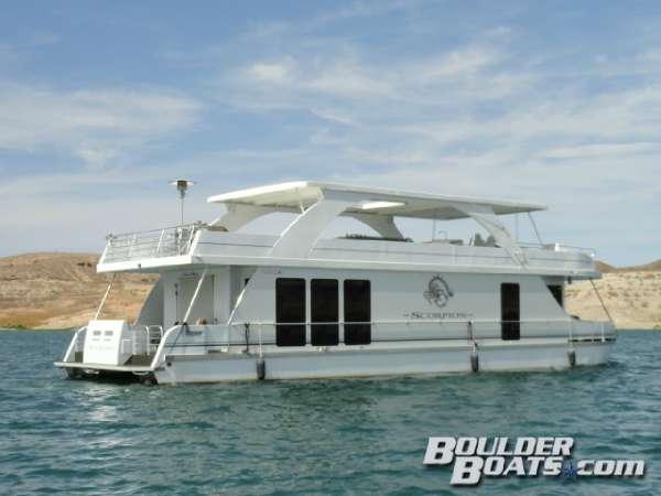 2008 Desert Shore Yachts 18' X 70' Houseboat, 2