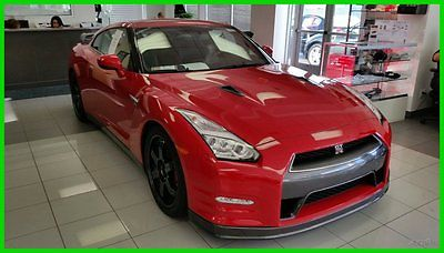 Nissan : GT-R 2dr Cpe Black Edition Navigation Leather Heated Se PRE-OWNED 2015 GTR AWD BLACK EDITION, NAVIGATION, RECARO SEATS, 7584 MILES