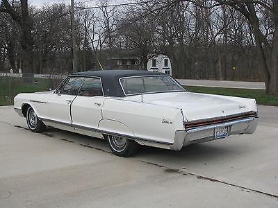 Buick : Electra 225 1966 buick electra 225 4 door hardtop 50 708 miles striaght car great driver, 2
