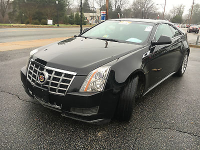 Cadillac : CTS CTS 2-Door Coupe Excellent Condition. Black 2-Door Coupe, Premium Sound System