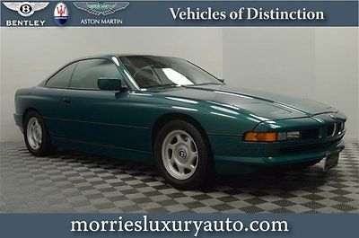 BMW : 8-Series V12 Coupe 93 bmw 850 i heated leather seating electronic damper control remote entry