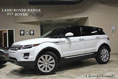 Land Rover : Evoque 4dr SUV 2014 land rover range rover evoque prestige suv adaptive cruise control wow