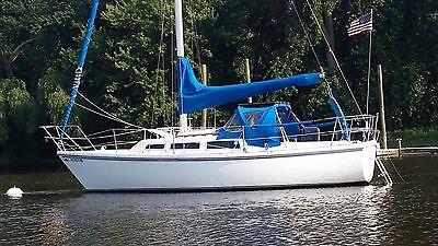 Catalina C27 Sailboat (Diesel)