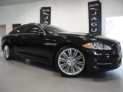 Jaguar : XJ8 Supercharged 2011 jaguar xj supercharge ultimate black