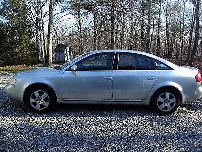 Audi : A6 2001 audi a 6 quattro 2.7 t