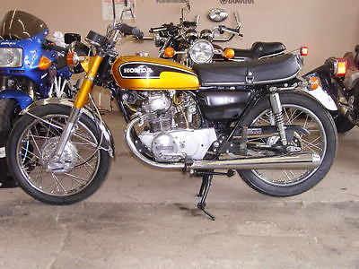 Honda : CB Honda CB175 Cafe Antique Vintage Twin CL SL XR CR CBR CT XL VFR Collector RUNS!!