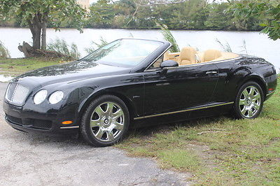 Bentley : Continental GT GT GTS  BENTLEY :  Continneltal GT GTC Convertable 2 Door