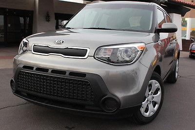 Kia : Soul 2015 kia soul titanium gray like new warranty clean 1 owner car fax
