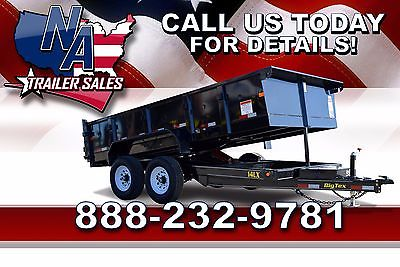 New 2016 Big Tex Trailers Tandem Axle Low Profile Extra Wide 14' Dump - 14LX-14