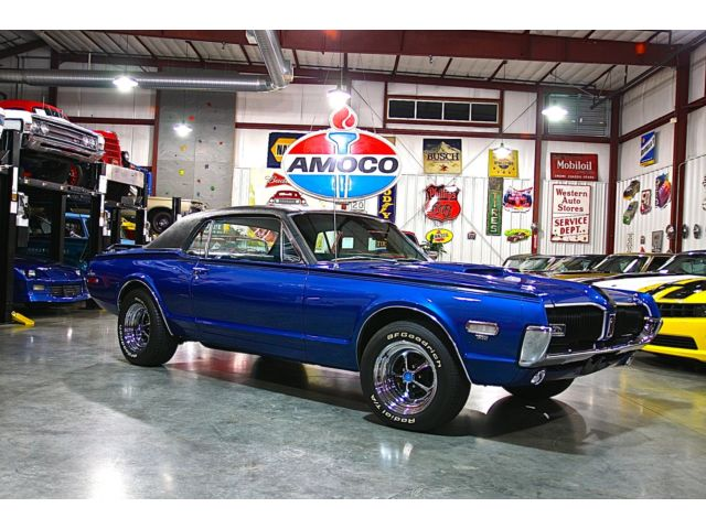 Mercury : Cougar COUPE 1968 show winning outstanding driver stunning looks extremely detailed engine
