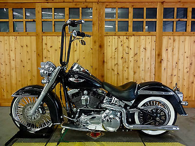 Harley-Davidson : Softail 2009 harley davidson softail deluxe big fat spokes cadillac of the softails