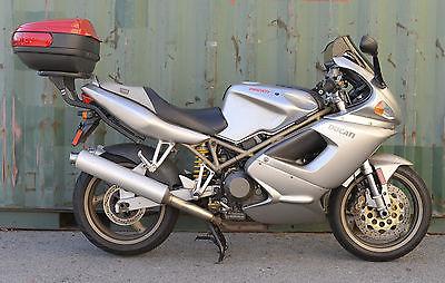 Ducati : Sport Touring 1998 silver ducati st 2