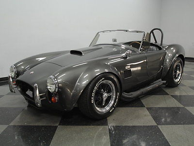 Shelby : Cobra Replica EXCELLENT PAINT, 302 V8, 5 SPEED MANUAL, CORVETTE SUSPENSION, 4 WHL DISCS, NICE