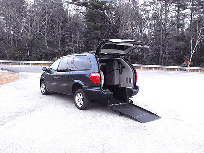 Dodge : Caravan Vision Rear-Entry Handicap Wheelchair Ramp 2007 dodge caravan sxt handicap wheelchair van vision rear entry 1 owner