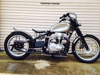 Kawasaki : Other 2000 kawasaki w 650 inspired by dues ex machina new build make an offer