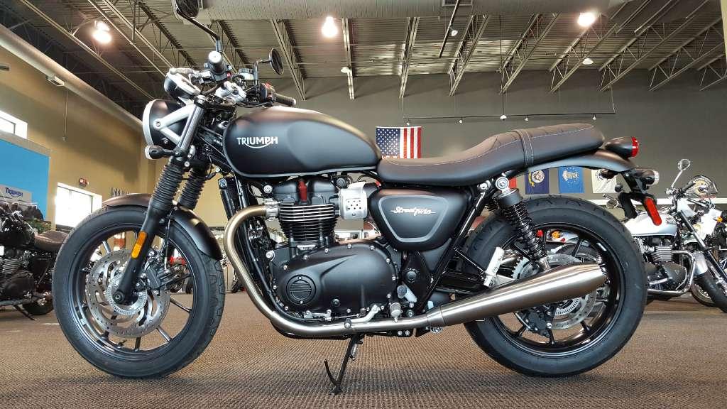 Triumph Bonneville Street Twin 900 Motorcycles For Sale