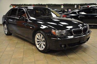 BMW : 7-Series 750Li 2007 bmw 750 li