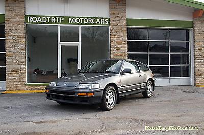 Honda : CRX Si 1990 jdm honda crx si rhd ef 7 right hand drive