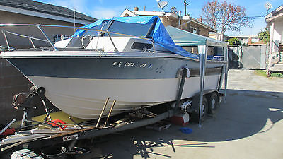 1977 boat yatch cruiser  vessel  with trailer  carrier 1977 vansn make