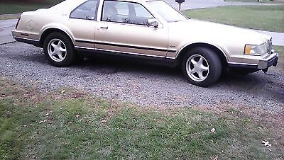 Lincoln : Mark Series lSc 1986 lincoln mark vii lsc