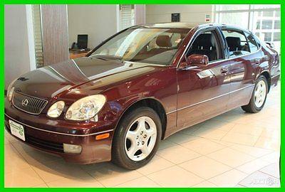 Lexus : GS 4DR SDN 2001 4 dr sdn used 4.3 l v 8 32 v automatic rwd sedan premium