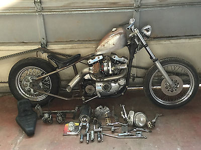 Custom Built Motorcycles : Bobber BOBBER  TURBOED ROLLING CHASSIS WITH EXTRA PARTS!!!